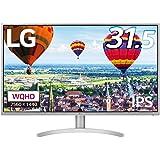 LG モニター ディスプレイ 32QK500-W 31.5インチ/WQHD(2560×1440)/IPS非光沢/HDMI×2、DP、Mini DP/フリッカーセーフ、ブルーライト低減モード搭載
