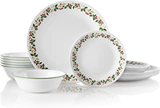 product image for Corelle Service for 6, Chip Resistant, Holiday Berries dinnerware sets, 18-piece