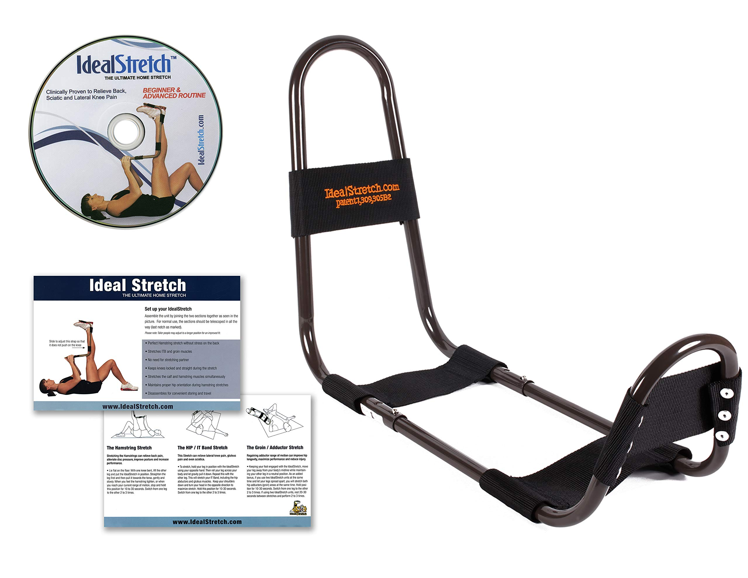 IdealStretch Original Hamstring, Leg, and Knee Stretching Device