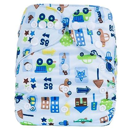 Escoceses Baby baby plástico pañales pañales Pantalón Baby Pañales Pañales reutilizables cubrepañales pañales con patrón de