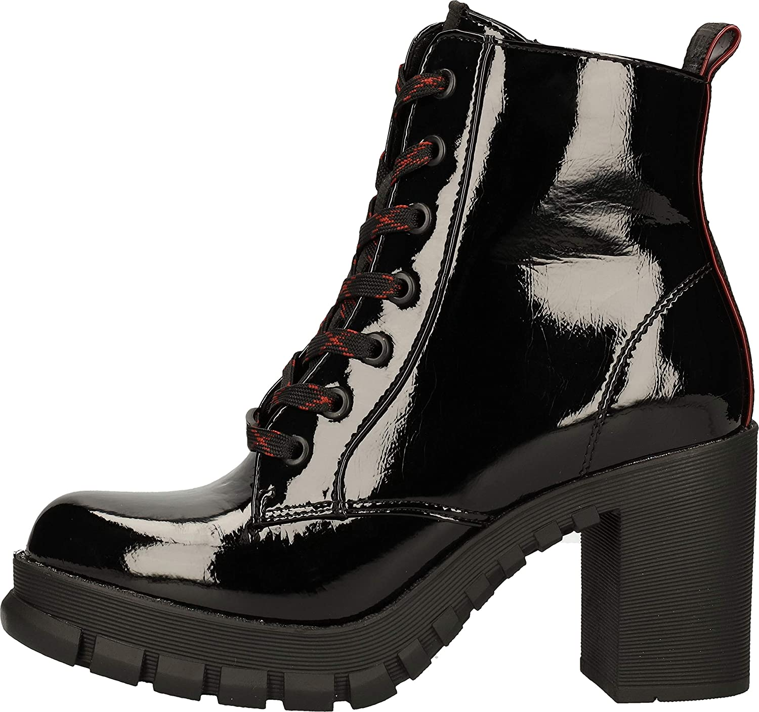 Buffalo Damen Majesty Mode-Stiefel Schwarz