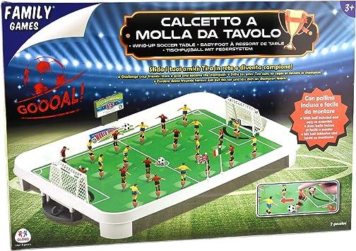 Juegos Familiares 36,951 - Soccer Tabla Primavera: Amazon.es: Juguetes y juegos