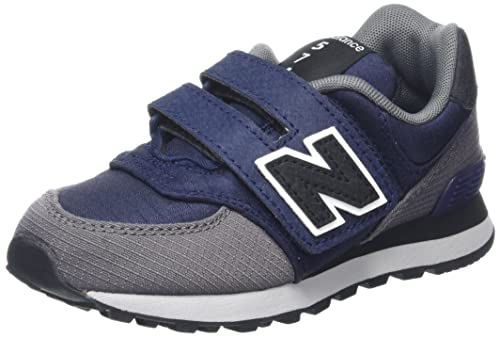 New Balance 420V1, Zapatillas Unisex Bebé, Azul (Navy/Grey), 39 EU