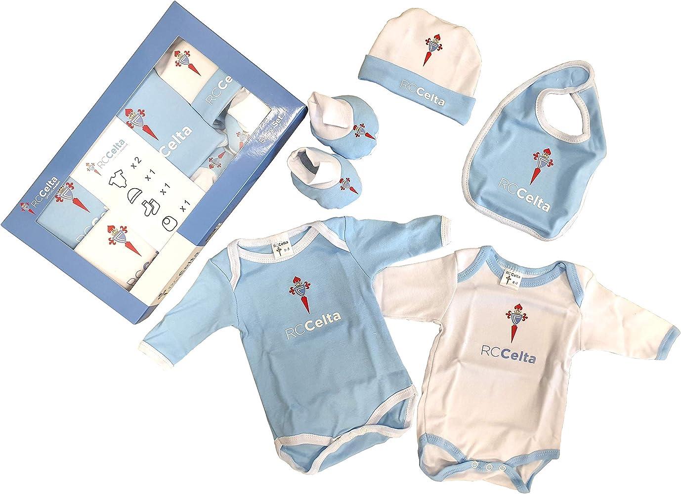 R.C. Celta de Vigo Baby Set Celta, Conjunto de Ropa Unisex Bebé ...