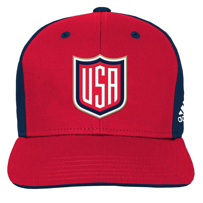 Amazon.com   adidas Youth Team USA Hockey World Cup of Hockey Player  Snapback Adjustable Hat   Sports   Outdoors c0f21477c1f