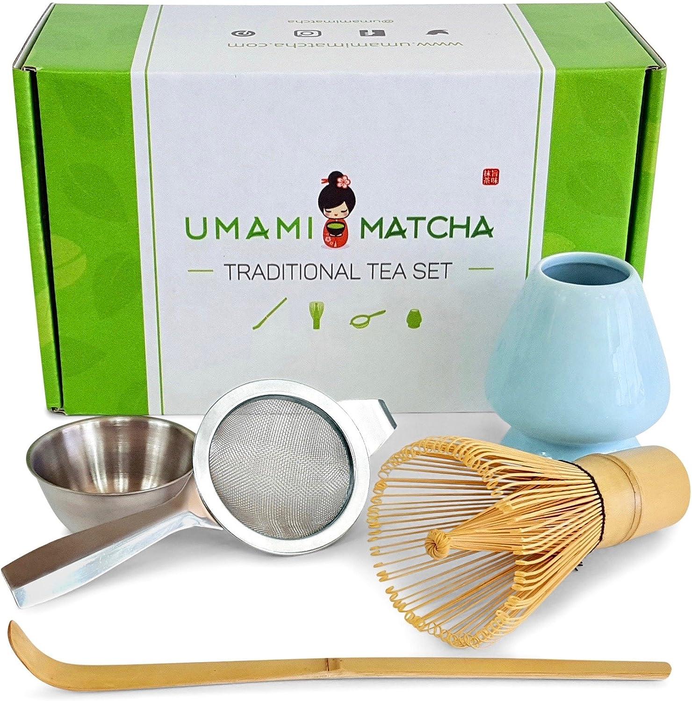 Fictory Matcha Kit-Bamboo Matcha Making Set Batidor Enganchado Bamboo Scoop Chashaku Matcha Tea Batidor