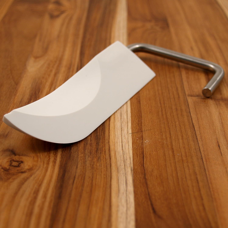 Ankarsrum Original White Plastic Dough Knife Accessory For Models N25-N30