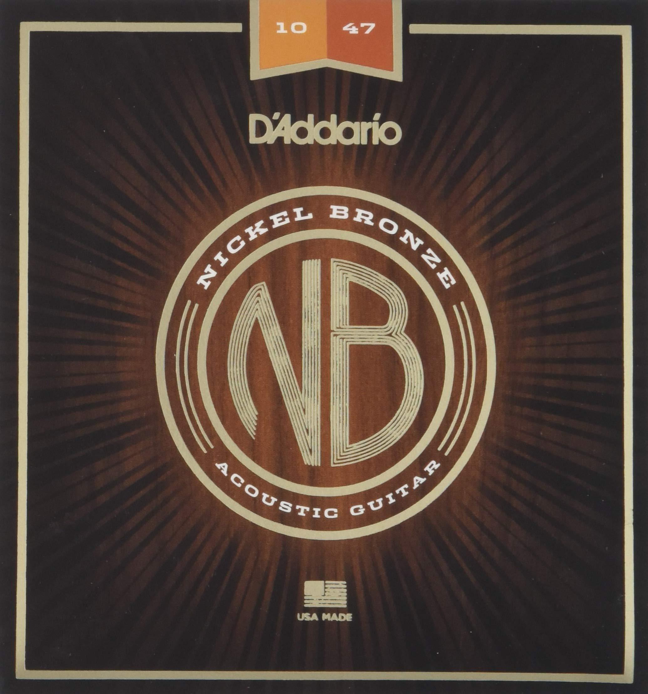 DAddario NB1047 - Juego de cuerdas acústicas product image