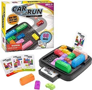 Wesimplelife Juguetes Educativos Car Run Juegos de Mesa Juegos Ingenio Juegos de Lógica con 60 Tarjetas de Desafío y Bolsa de Almacenamiento Stem Juguetes para Niños Adultos: Amazon.es: Juguetes y juegos