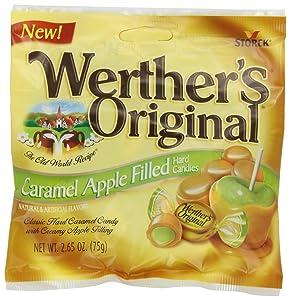 Werther's Original Caramel, Apple Filled, 2.65-Ounce (Pack of 12)