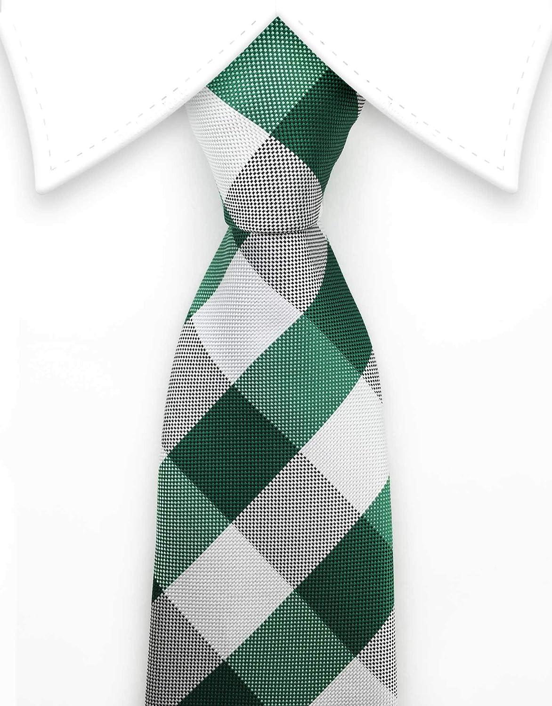 Gentleman Joe White /& Black Striped Tie Multicolored