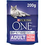 Purina One Adult Cat Salmon and Whole Grains, 200 gm