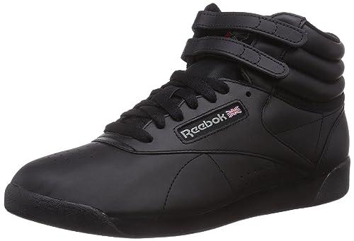 Reebok Freestyle Hi - Zapatillas de cuero para mujer af59deee49ef1