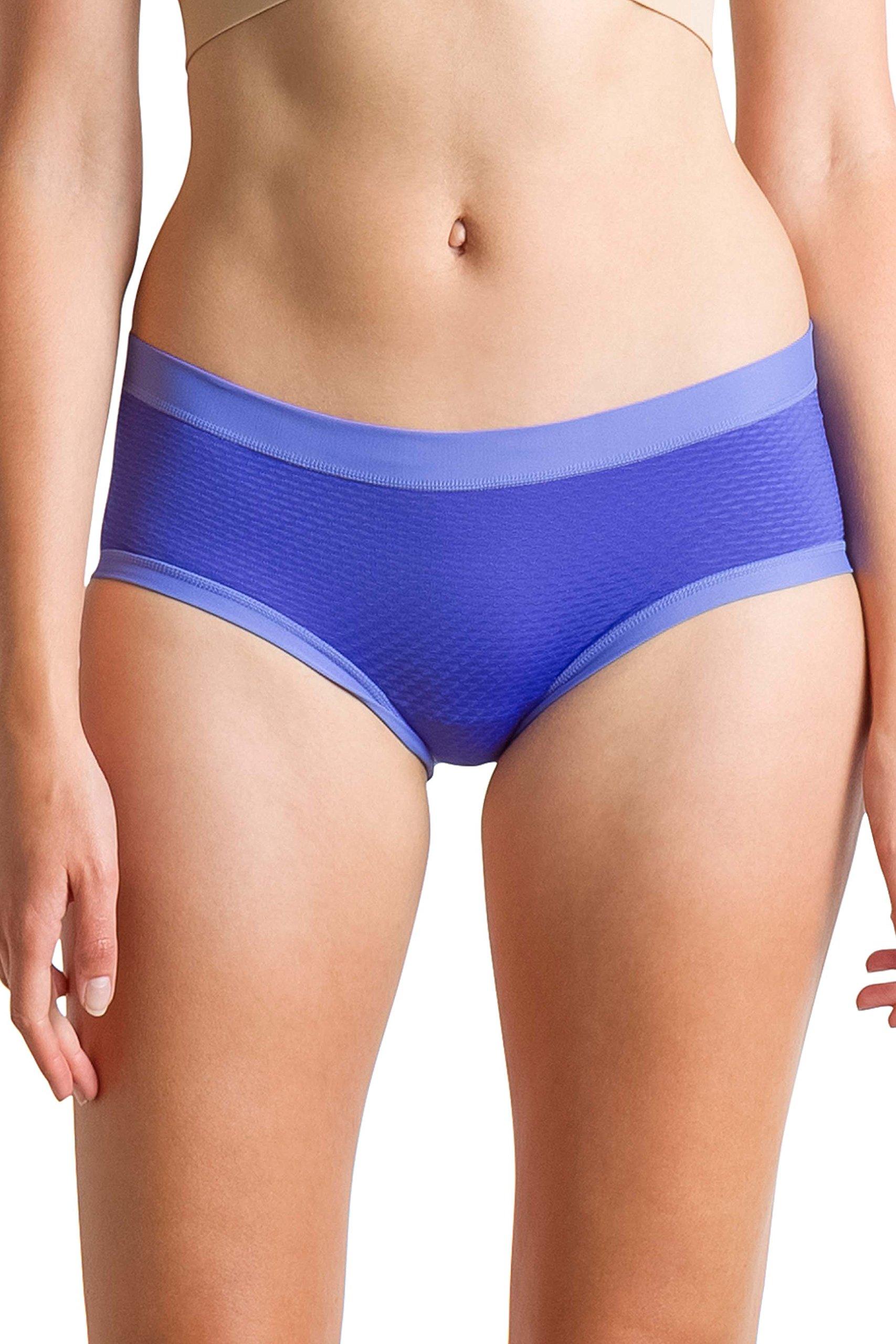 ExOfficio Women's Give-N-Go Sport Mesh Hipkini Underwear, Regal, Large