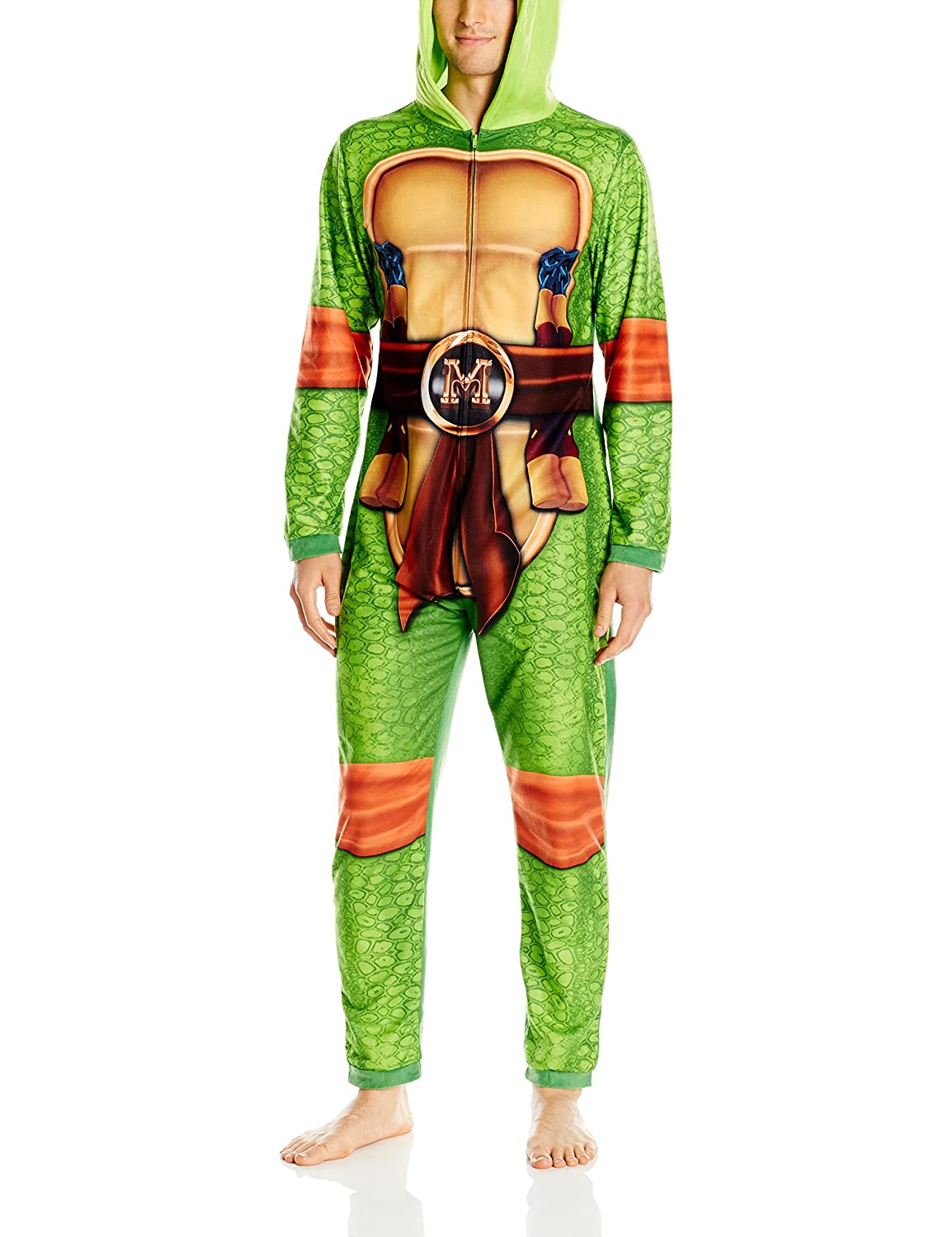 Nickelodeon Menu0027s Teenage Mutant Ninja Turtles Family Cosplay Union Suit Green Adult S at Amazon Menu0027s Clothing store  sc 1 st  Amazon.com & Nickelodeon Menu0027s Teenage Mutant Ninja Turtles Family Cosplay Union ...