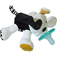 Mary Meyer WubbaNub Soft Toy and Infant Pacifier, Tic Tac Toby