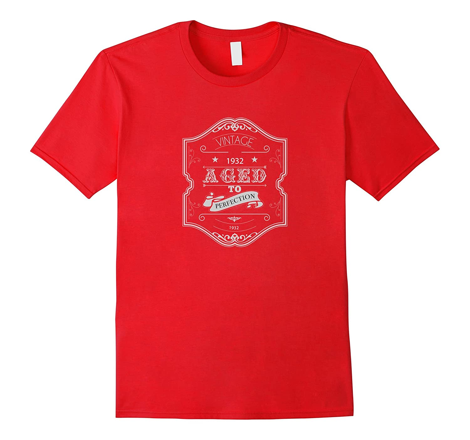 1932 Vintage T-shirt Aged to Perfection Birthday Gift Idea-TH