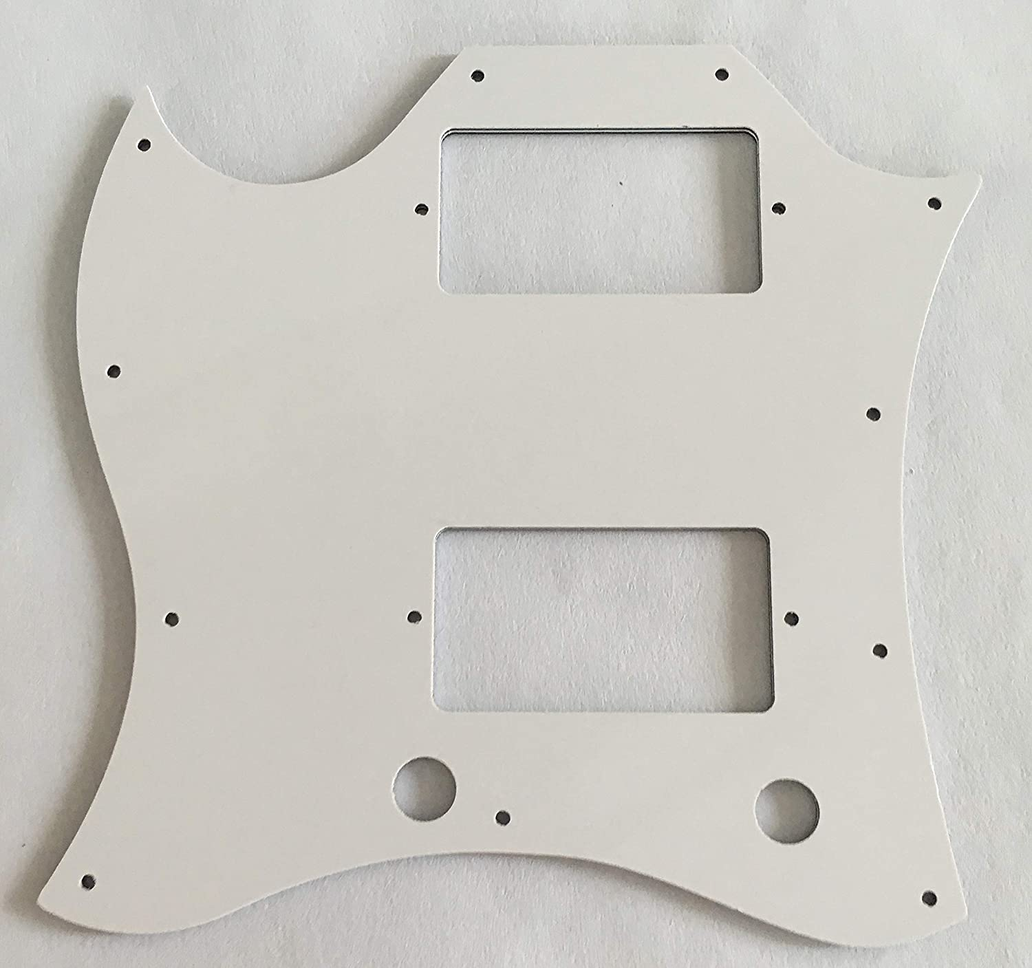 Guitar Parts For Gibson SG Standard Style Full Face Guitar Pickguard 4 Ply Red Tortoise