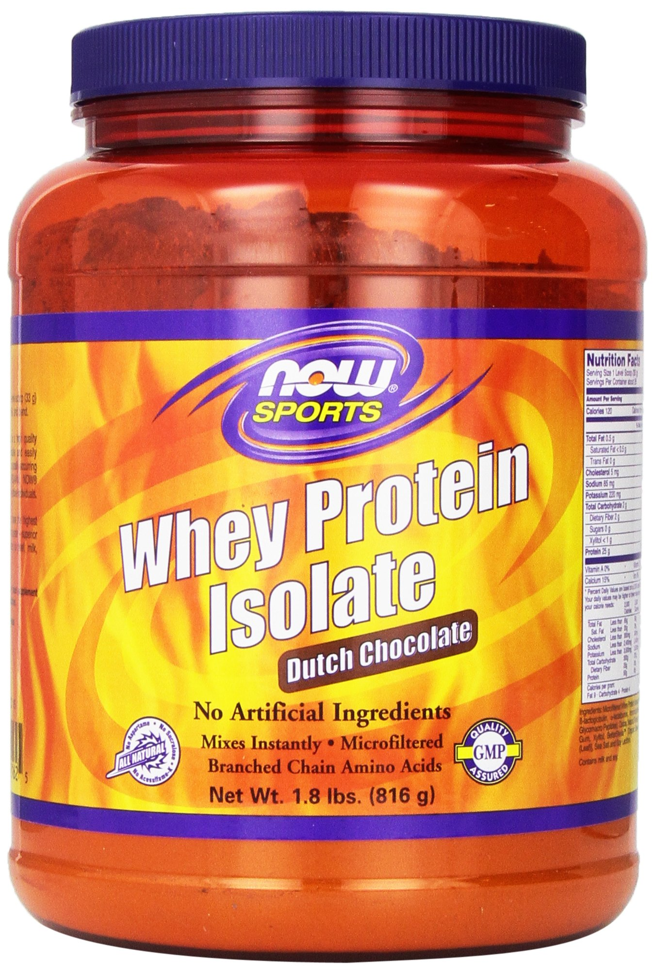Now Foods Sports Whey Protein Natural Vanilla