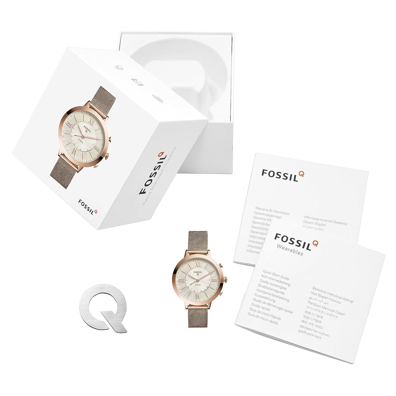 Amazon.com: Fossil Jacqueline - Reloj inteligente híbrido de ...