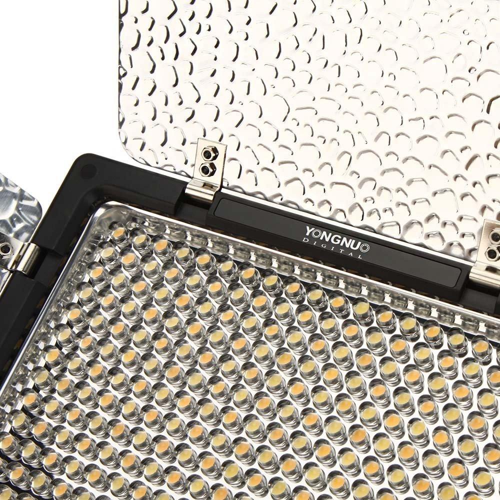 Yongnuo YN160 III LED Luz de v/ídeo con 192 c/élulas luminosas 5500K con WINGONEER NP-F770 Bater/ía y WINGONEER cargador