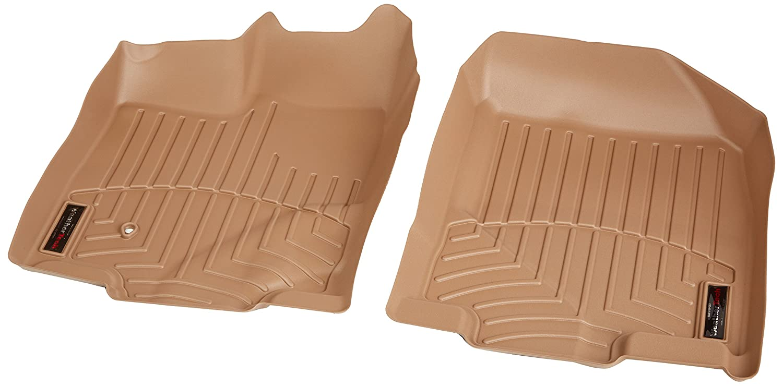 WeatherTech Custom Fit Front FloorLiner for Ford Edge Tan 451101