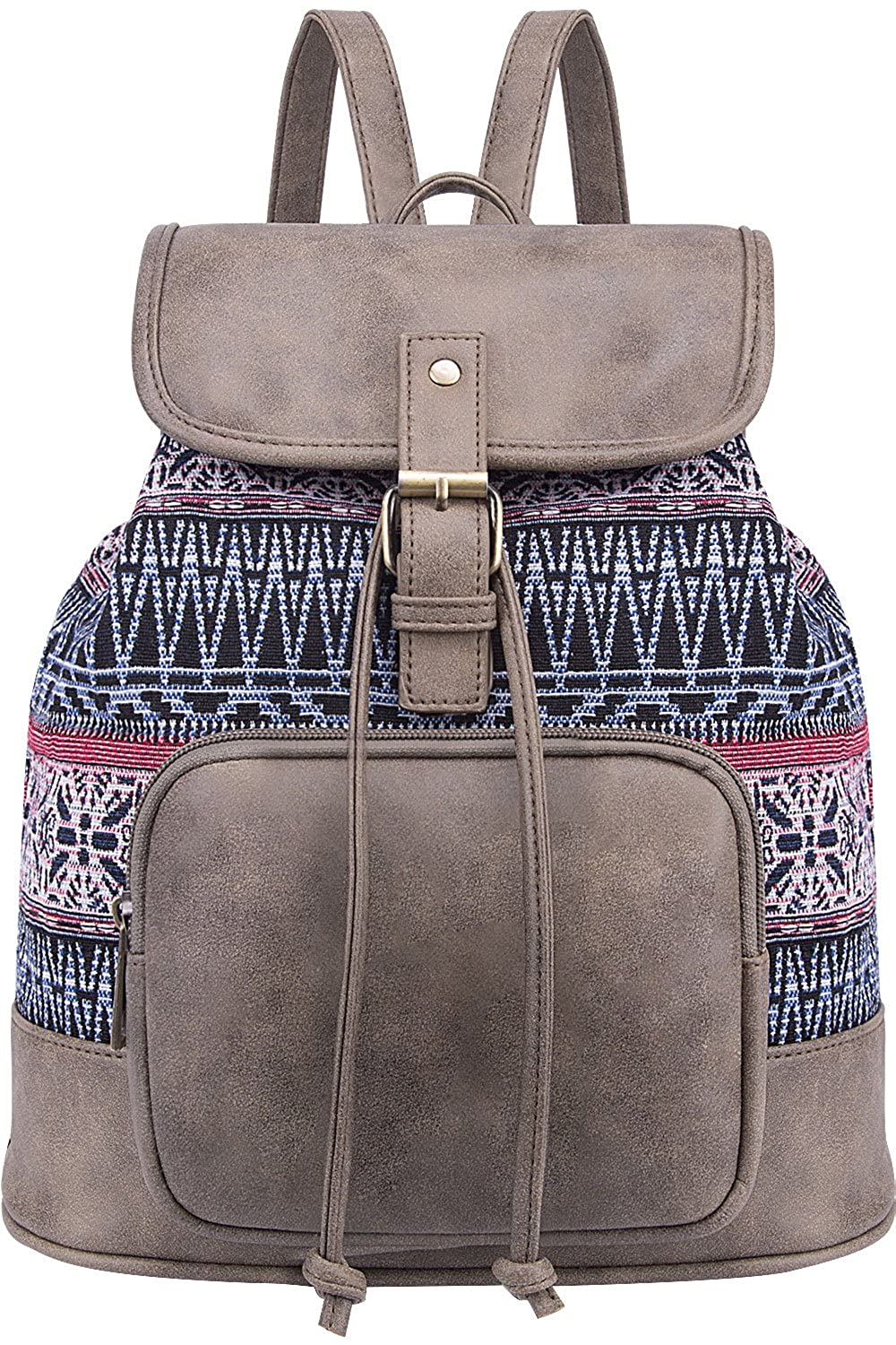 Lily Queen Fashion Small Purse Backpack Lightweight for Women and Teen Girls Colorful LQ-1070