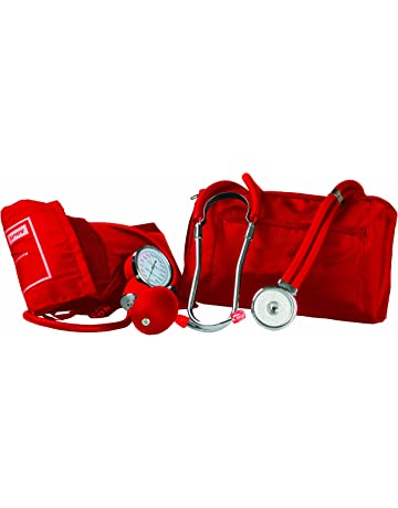 Primacare DS-9181-RD Professional Blood Pressure Kit, Includes an Aneroid Sphygmomanometer and