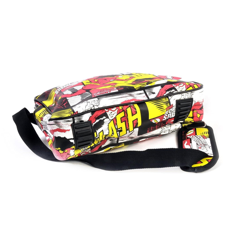 The Flash Comic Book Style Messenger Bag