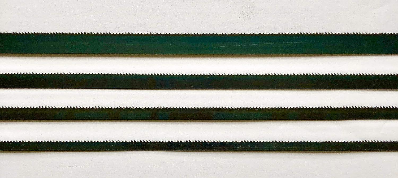 1400mm x 0,65mm 14ZpZ 3x Bands/ägebl/ätter geh/ärtet von 1070mm-2500mm Breite 6mm 14ZpZ