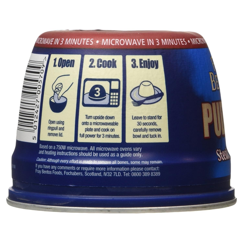 Fray Bentos Steak and Kidney Pudding, 400g: Amazon co uk: Prime Pantry