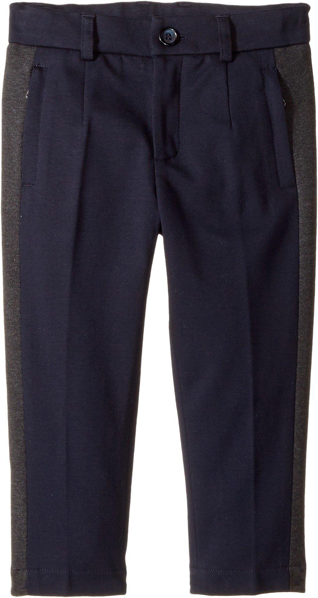 Dolce & Gabbana Kids  Baby Boy's Stretch Knit Pants (Toddler/Little Kids) Blue 4T Toddler