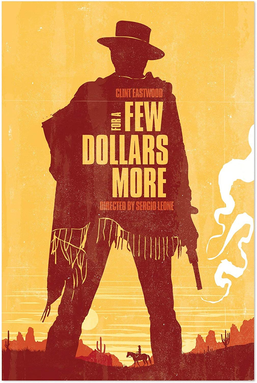 "Amazon.com: Noir Gallery for a Few Dollars More Movie Poster 5"" x ..."