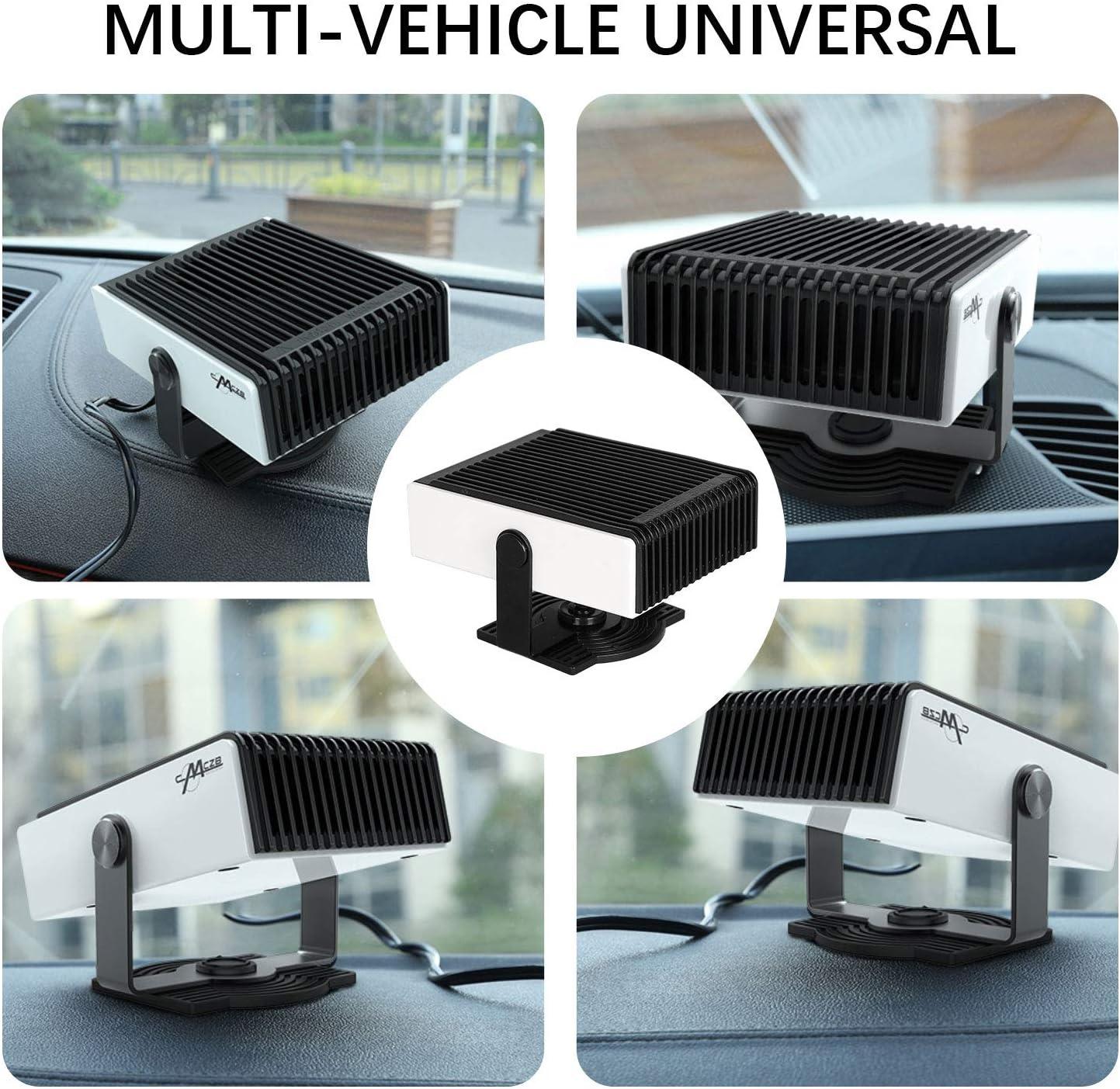 K/ühlventilator Auto-Heizung 2-in-1 tragbar Fenster-Entfeuchter 200 W Mingting Auto-Heizung Abtauen von Windschutzscheibe 12 V
