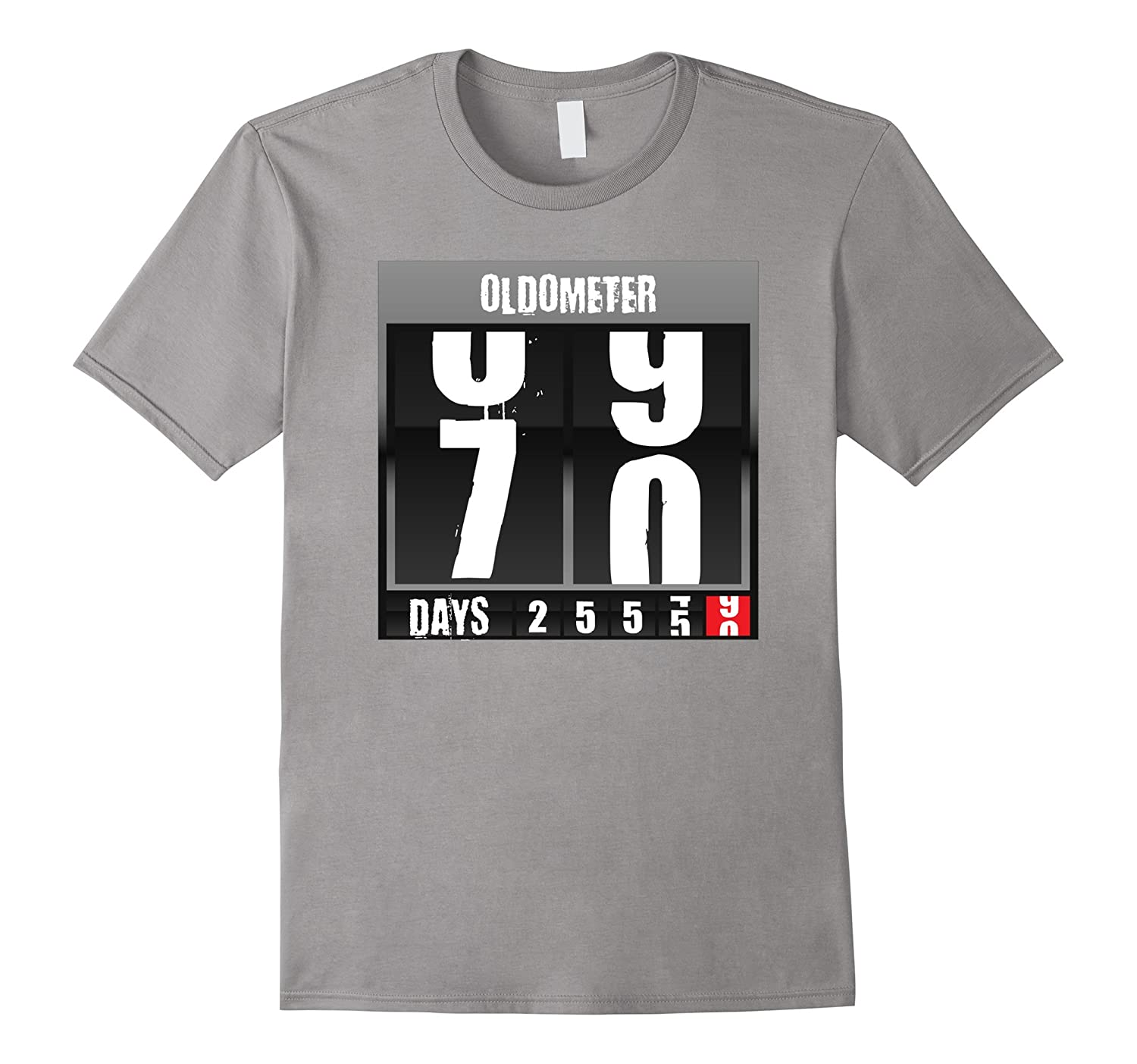 Oldometer 70 Yr Old Novelty Tshirts Birthday Gifts For Men PL