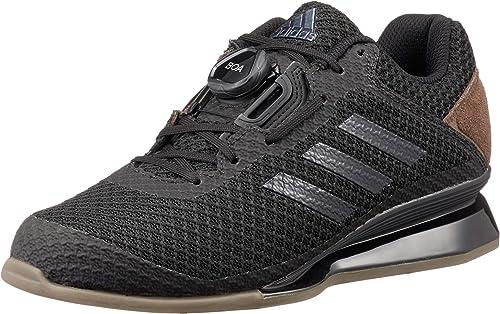 adidas Leistung 16 II Chaussures d'haltérophilie Homme Noir