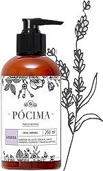Pócima - Crema Corporal con aceite Esencial de Lavanda y Aloe Vera Orgánico 250 ml …