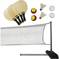 LIFETIME 90421 Pickleball de por Vida, bádminton, Tenis de & Quickstart Neta Set
