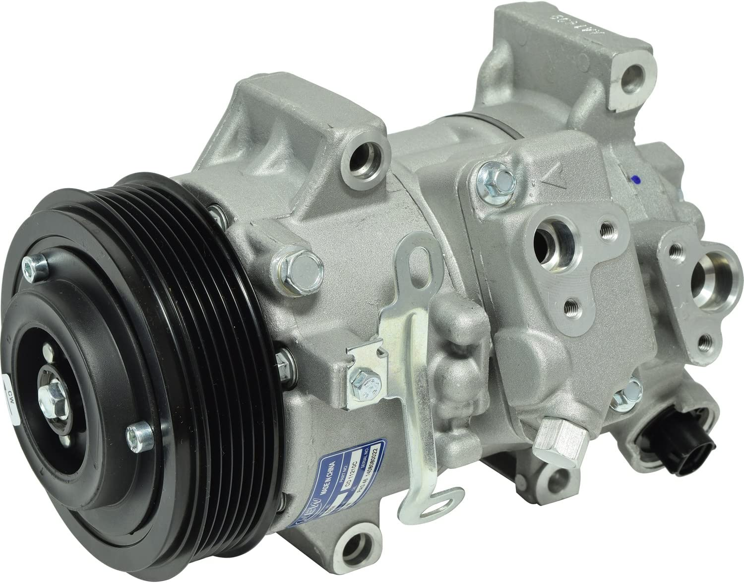 RYC Remanufactured AC Compressor and A//C Clutch FG328
