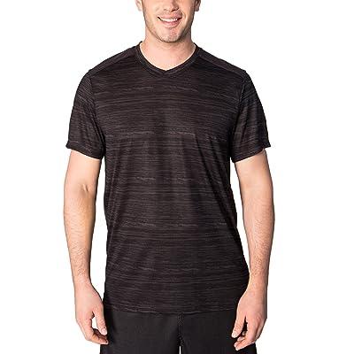 RBX Active Men's Short Sleeve V-Neck Workout Training Tee Shirt