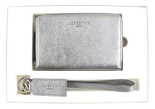 Liebeskind Berlin - Bundle2 Shiny, Carteras Mujer, Plateado (Silber (Iron Silver)