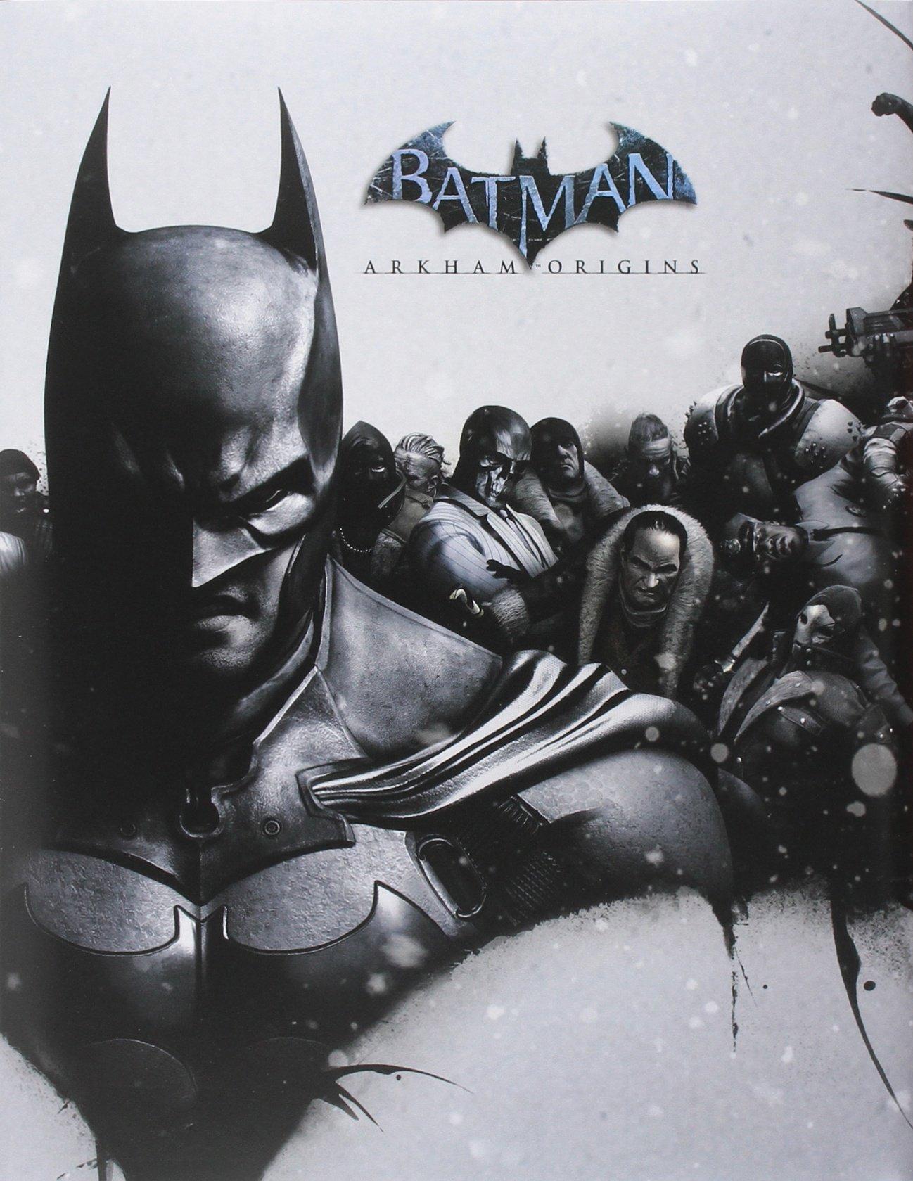 Batman Arkham Origins Limited Edition Strategy Guide Brady Games Amazoncouk BradyGames 8601419794638 Books