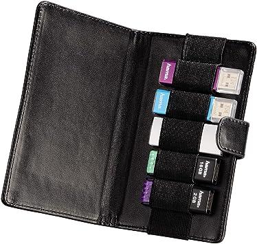 HAMA Vegas - Funda para Memoria USB (hasta 5 memorias USB), Color Negro: Amazon.es: Electrónica