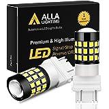 Alla Lighting 3157 LED Bulbs Super Bright 3156 3056 3057 4157 3457 4057 LED Brake Stop, Back-up Reverse, Turn Signal Lights,