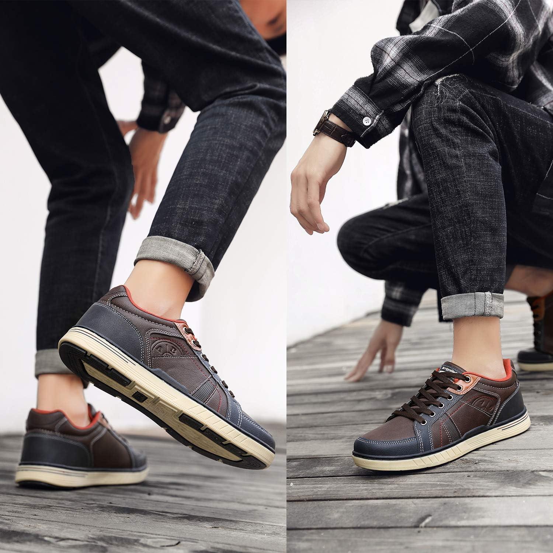 ARRIGO BELLO Basket Homme Chaussure Sneakers Marche Espadrilles Soulier Outdoor Business Lacets Athl/étique Classic Taille 41-46