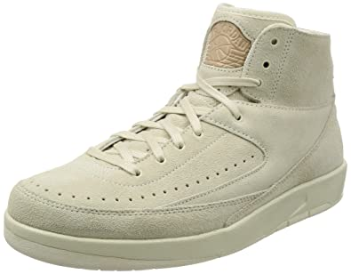 2f456b223164bb Jordan Men s Air 2 Retro Decon Shoe Sail Sail -Bio Beige 897521 100 (