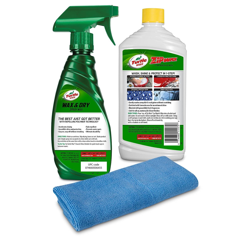 Amazon Com Turtle Wax 50823 Quick Easy Wash Wax Kit Automotive