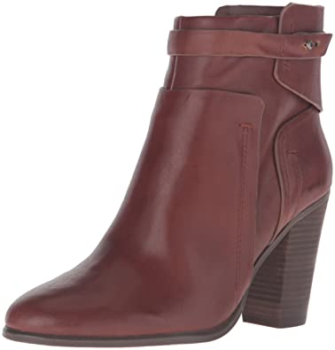 Vince Camuto Women's Faythe Ankle Bootie, Chocolate Decadence, ...