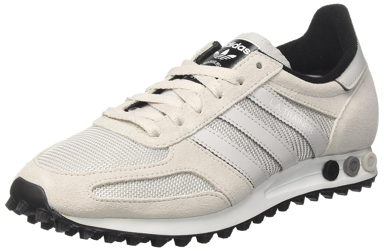 Adidas La Trainer OG - Zapatillas de casa Hombre 46 EU|Blanco (Grey One F17/Grey One F17/Core Black)