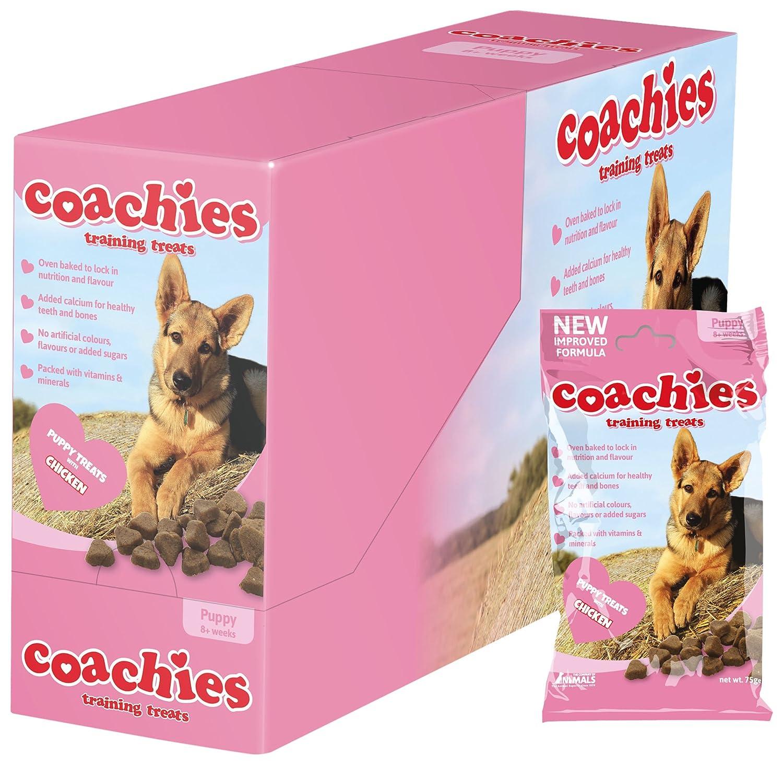 Coachies Company of Animals Friandises pour Chiot Sachet de 75 g - Lot de 5 The Company of Animals